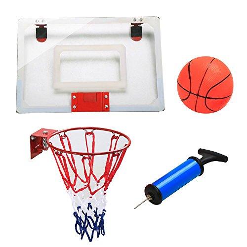 Yahee Mini Basketballkorb Basketballring Backboard für Indoor Büro zum hängen