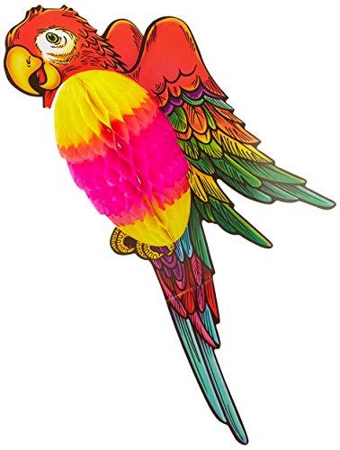 Beistle 55337Tissue Parrot, 43cm