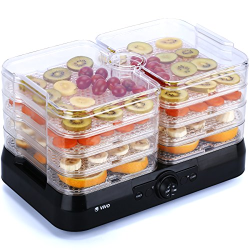 51vva9Z6eSL. SS500  - Vivo © Professional 4 Tray Food Dehydrator Plus Fruit Dryer Machine Thermostat Control