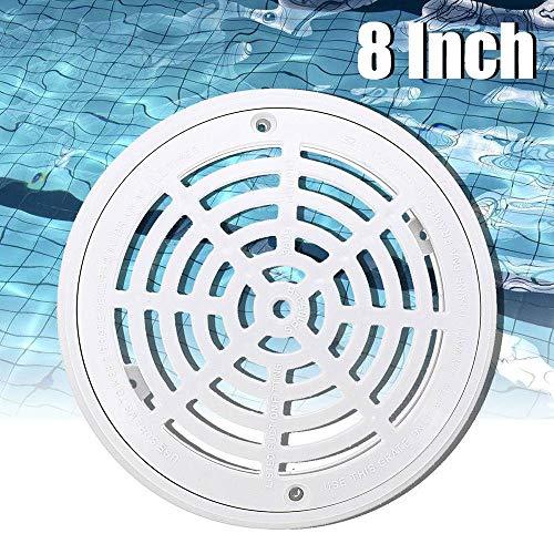 Q 20,3 cm Ersatz-Abdeckung für Schwimmbecken, rund, Weiß