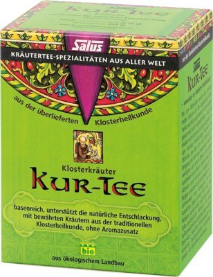 KUR TEE Klosterkräuter Bio Salus Filterbeutel 15 St Filterbeutel