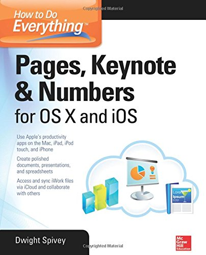 Lion Pda (How to Do Everything: Pages, Keynote & Numbers for OS X and iOS)