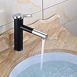 Gimili Wasserhahn Bad Mischbatterie Waschbecken Amaturen Badezimmer Armatur Schwarz