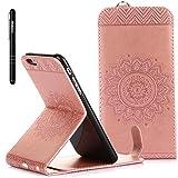 Slynmax Mandala Tasche Schutzhülle für iPhone 6s Plus/iPhone 6 Plus 5,5