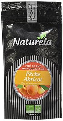 NATURELA Thé Blanc Pêche Abricot 30 g - Lot de 6