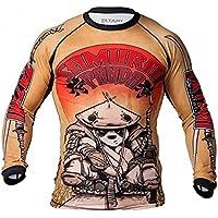 Tatami Fightwear Samurai Panda - Camiseta de Tirantes para Hombre, Hombre, Color Amarillo, tamaño Medium