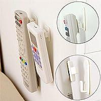 2 TV Set telecomando aria condizionata Sticky Hook autoadesiva Holder forte gancio del sensore della parete