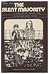 Silent Majority: Study of the Working Class in Post-war British Fiction (Vision critical studies)