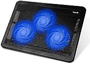 لوحة تبريد الحاسوب المحمول (اللاب توب) بحجم 15.6 إلى 17 انش HV-F2056 من هافيت - نحيفة وسهلة الحمل والنقل وتعمل