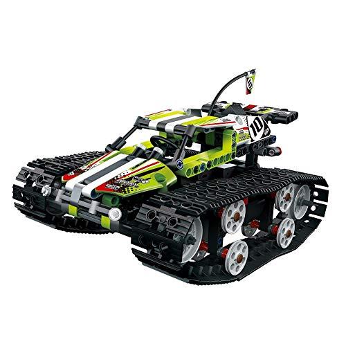 (2.4ghz Rc Auto Fernsteuerung Auto Spielzeugauto Aus Bausteinen Bauen Spielzeug Robust Ladung Kreativität Erweitern Auto, 410 Stück Bausteine)