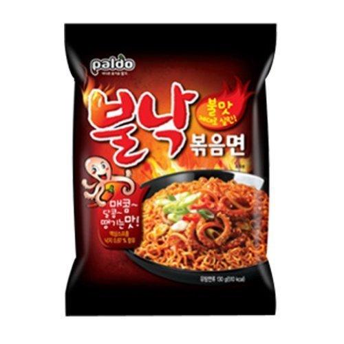 Super Spicy Stir-fried Small Octopus Ramyun 6 Packs Korean Noodle BULNAKBOKEUM by Paldo