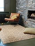 benuta Teppich Gazania Gelb 120x170 cm | Moderner Teppich für Wohn- und Schlafzimmer