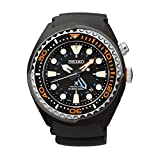Seiko Herren-Armbanduhr XL Kinetic Diver Chronograph Quarz Plastik SUN023P1