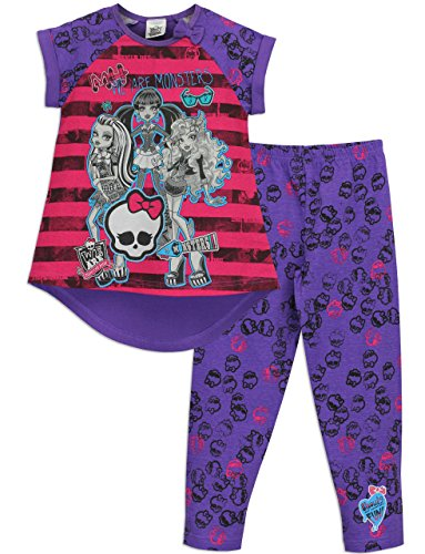 Image of Monster High Girls Monster High Pyjamas Age 7 to 8 Years