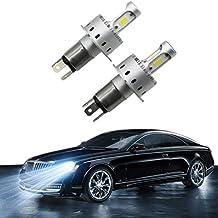 Car H4 LED faros 90W 9003 Hi / Lo Kit de luz LED de la lámpara del bulbo COB chip de Niebla Conducir 12000lm 6500K 50000 horas de vida blanca
