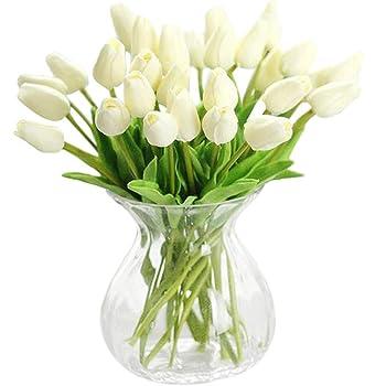 Jyohey Unechte Blumen Kunstlicher Blumenstrauss Tulpen Kunstliche
