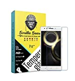 #10: Gorilla Guard™s HD+ Clear Tempered Glass Screen Protector for Lenovo K8 Note 5.5inch (Pro Series) 8H Hardness, oelophobic, UV Protect, 2.5D Rounded Edges, Neo Coated, Free instalation kit, Best Deal!