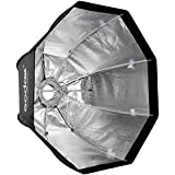 Andoer Godox sb-ue 80cm/31,5en boîte à lumière octogonale parapluie portable avec fixation Bowens pour flash Speedlite