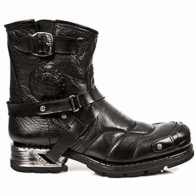 New Rock Stiefel M NEOTYRE07X S1 Plateau Gothic Metal Biker 70?s Damen Boot