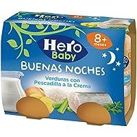 Hero Baby - Babynoches Verduras Pescadilla a la Crema - Pack de 6 x 380 g