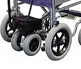 Roma Medical (Shoprider) Orbit 1330 Deluxe Transit Wheelchair & Power Pack