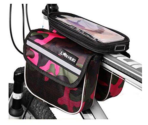 Bike Bag Bunte Fahrrad Lenker Pakete für 6 Zoll Telefon Multi-Funktions-Fahrrad-Zubehör#9