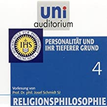 Religionsphilosophie, Teil 4 Personalität und ihr tieferer Grund (Reihe: uni auditorium) Länge: ca. 62 Min. 1 CD (uni auditorium  Hörbuch)