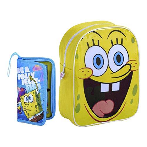 Image of Sambro Spongebob Squarepants Junior Backpack Stationery