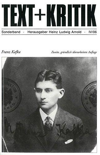 Franz Kafka (TEXT+KRITIK Sonderband)