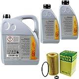 Filter Set Inspektionspaket 7 Liter Original Motoröl 5W-30 MB 229.51 MANN-FILTER Ölfilter