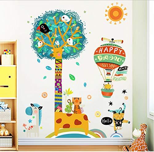Wandaufkleber PVC marine fisch bad wohnzimmer TV sofa hintergrund dekoration kindergarten spielhaus kinderzimmer tapete glasaufkleber 60 * 115 cm -