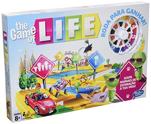 Hasbro Gaming - Game of Life - Versión Portuguesa (Hasbro E4304190)