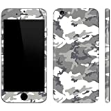 GADGETS WRAP CAMO Series Skin for Apple iPhone 6 / 6s (4.7) Front & Back. - Grey. B5B01