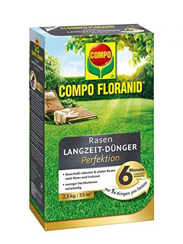 Compo 13647 Floranid Premium Rasen-Langzeitdünger  für 100 m²