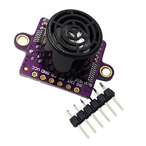 Sharplace Ultraschall Sensor Distanzmodul 3-5 V geeignet für Outdoor Anwendungen wie Auto Rückfahrkamera Sensoren