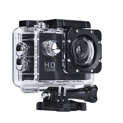 """Numérique Caméra - 7 couleurs 2,0"""" Mini 1080P Full HD DV Sports Enregistreur voiture imperméable sport caméra caméscope - Yogogo (Noir)"""
