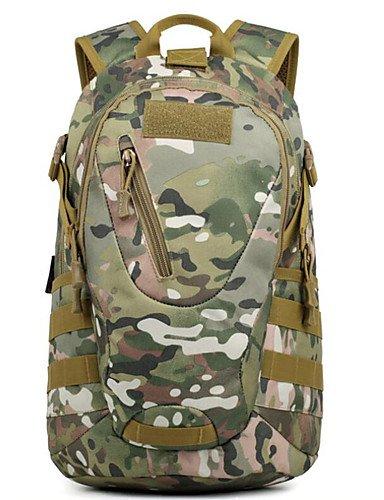 HWB/ 20 L Rucksack Camping & Wandern Draußen Multifunktions Schwarz / Braun / Tarnfarben Nylon Other jungle camouflage