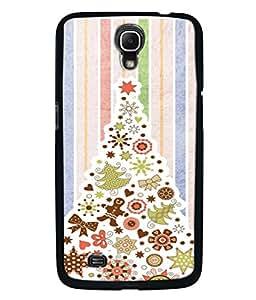 PrintVisa Designer Back Case Cover for Samsung Galaxy Mega 6.3 I9200 :: Samsung Galaxy Mega 6.3 Sgh-I527 (Christmas Tree In Peppy Design)