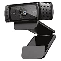 Logitech C920e Widescreen 1080p Full HD Webcam - Black