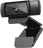 Logitech C920e Widescreen 1080p Full HD Webcam - Black