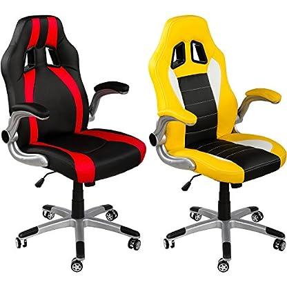 RACEMASTER Set de 5 ruedecillas para silla de oficina – Para suelos sin moqueta – Perno de 11 mm – Ruedas de 50 mm Ruedas para muebles de oficina