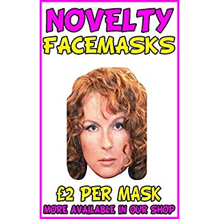Ab Fab 2 Novelty Celebrity Face Mask Party Mask Stag Mask