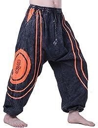 Kunst und Magie OM Baggy-Pants - Stonewashed Goahose