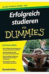 Erfolgreich studieren für Dummies Taschenbuch