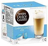 Nescafé Dolce Gusto Kaffeekapseln, Cappuccino Ice, 16 Kapseln