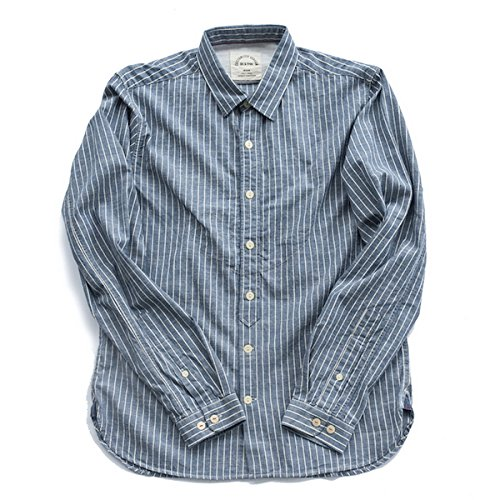 bii-free-mens-long-sleeve-retro-casual-autumn-striped-slim-fit-shirt-100-cotton