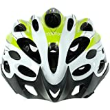 Cockatoo Professional Multi-Colour Cycling Helmet, Skating Helmet (White:Yellow, Medium) (White:Green, Large)