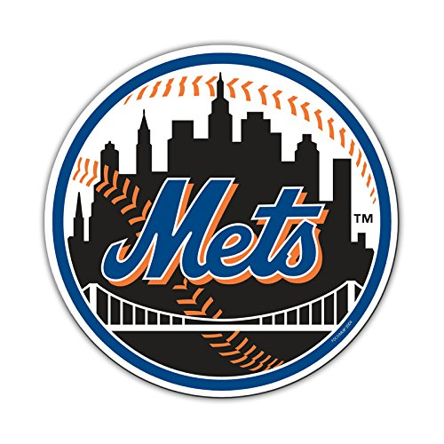 Fremont Die Offizielle Major League Baseball Fan Shop Authentic 30,5cm Jumbo MLB Auto Magnet Banner Logo, New York Mets