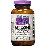 Bluebonnet Nutrition, Multi-one sans fer, 180 Capsules végétales