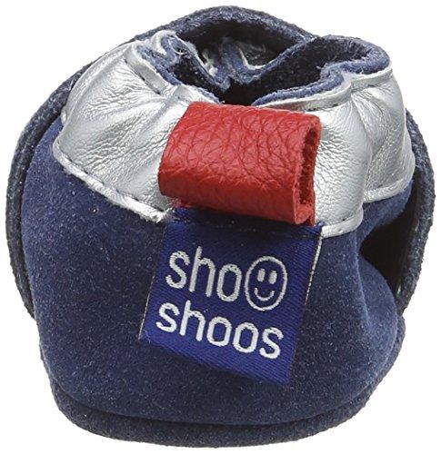 ShooShoos  Rockets, Baby Jungen Krabbelschuhe & Puschen Blue (Denim/Silver)